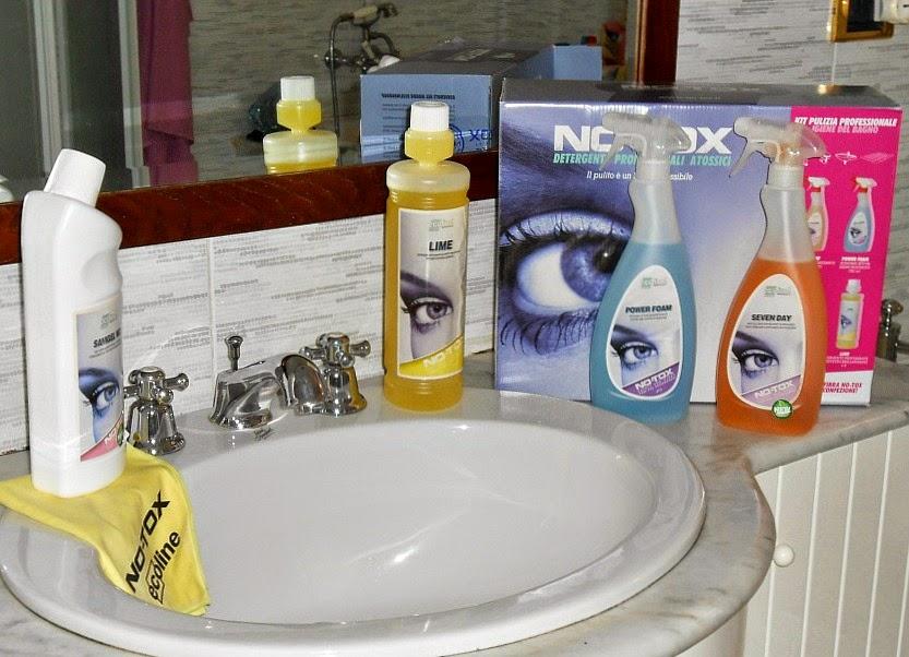 notox: detergenti atossici per la pulizia del bagno