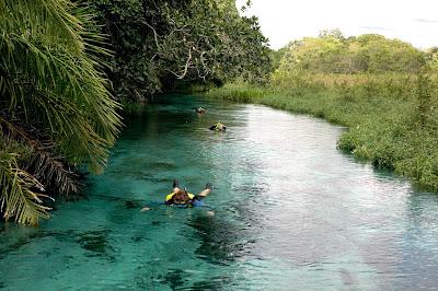 Rio de águas mais cristalinas do mundo
