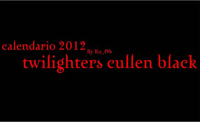 Calendario 2012 de Twilighters Cullen Black