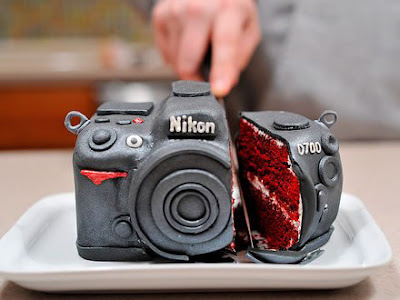 Bolo Camera fotográfica