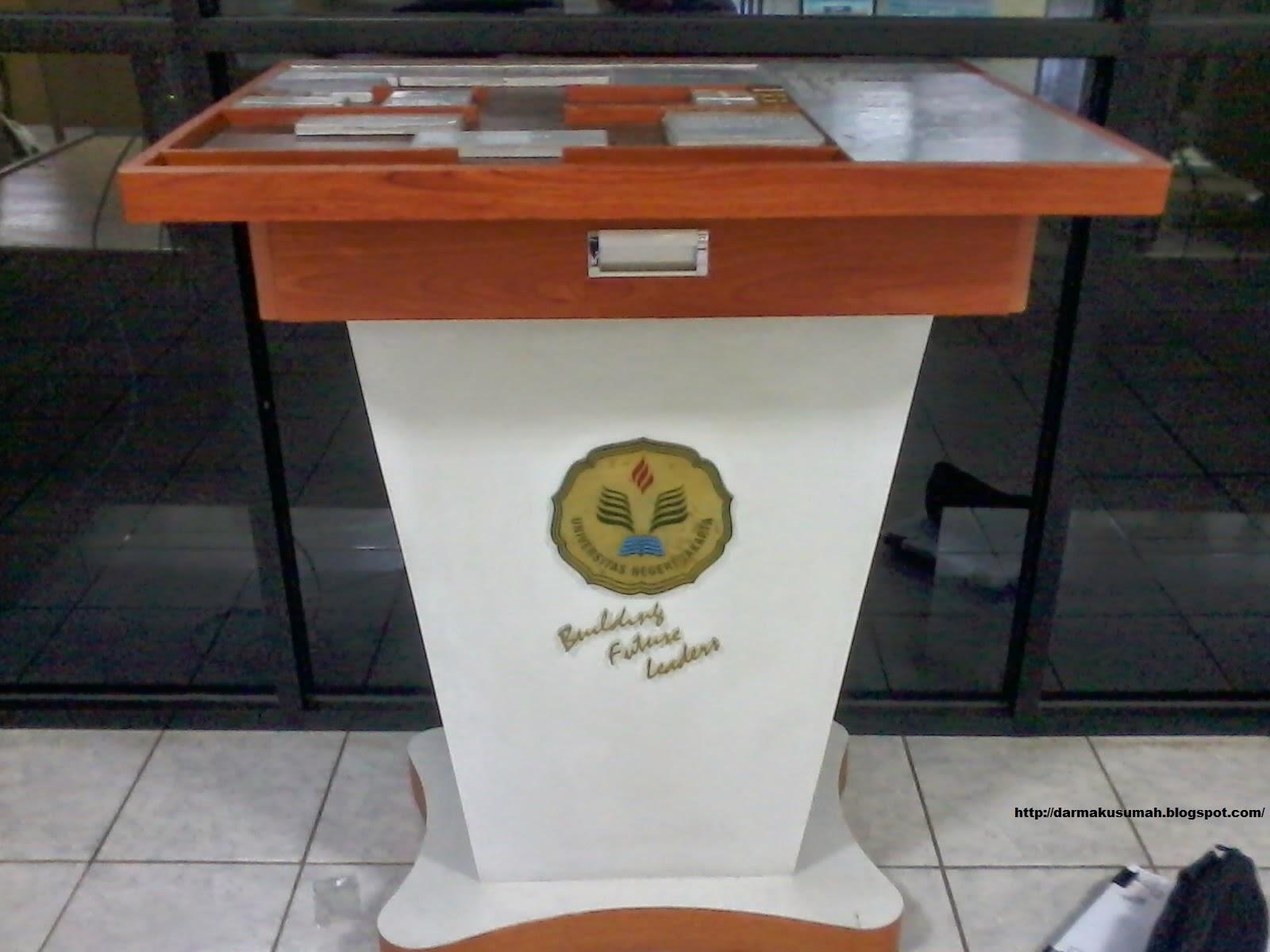 Peta Timbum Perpustakaan UNJ