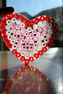 Bead Heart Craft