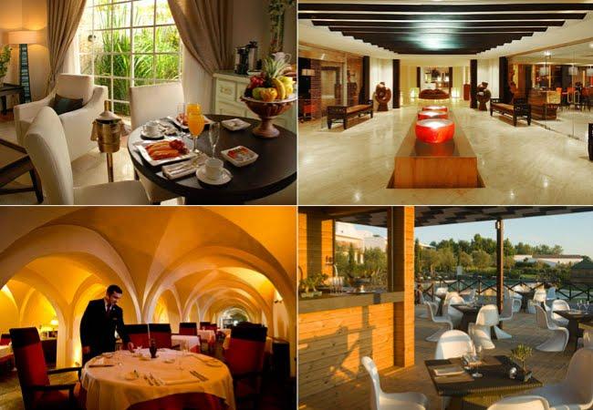 Hotel Paradisus Punta Cana (fotos acima) e Convento do Espinheiro (abaixo) (Foto: Divulgação)
