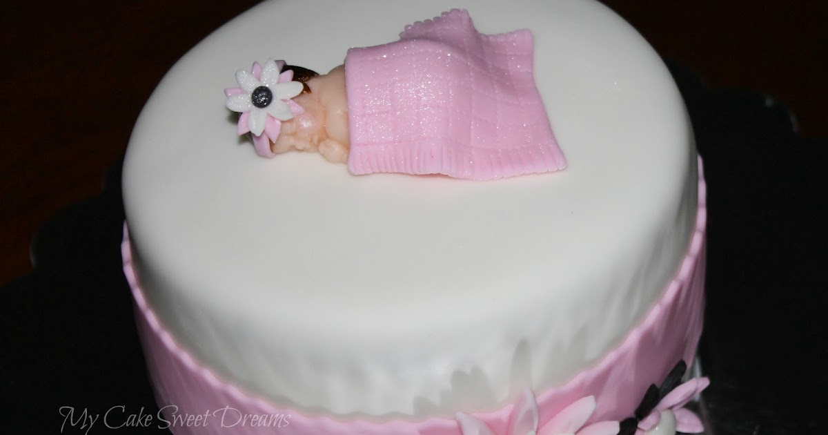 Simple Cake Designs For Baby Girl : Living Room Decorating Ideas: Simple Baby Shower Cakes For ...