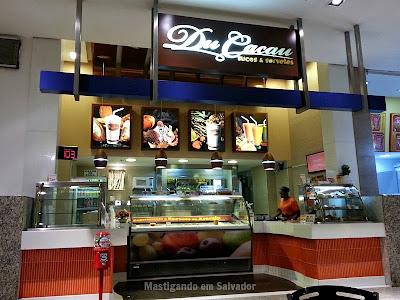 Du Cacau: Fachada da loja do Shopping Iguatemi