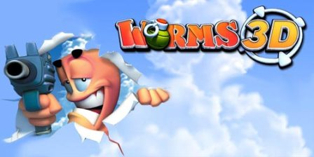 Worms touch java game download for Nokia Asha 305, 306, 308, 309, 311