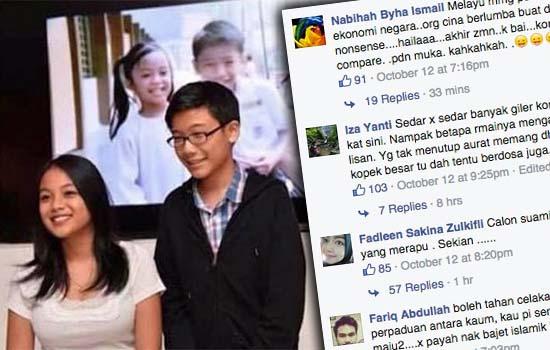 Payudara Gadis Iklan Petronas Dipersenda