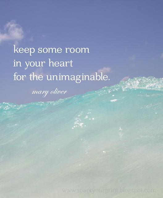 inspirational quote I mariana hodges for sparkyourprint.blogspot.com