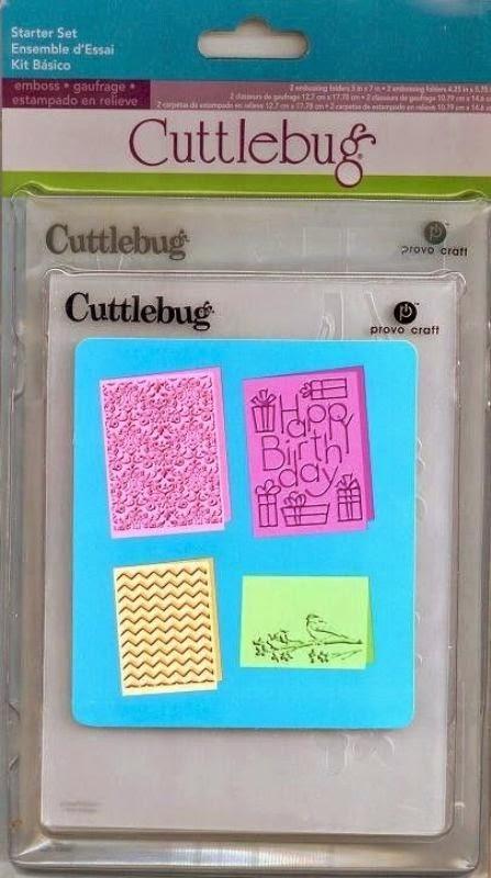 Cuttlebug Cricut Companion - Starter Set