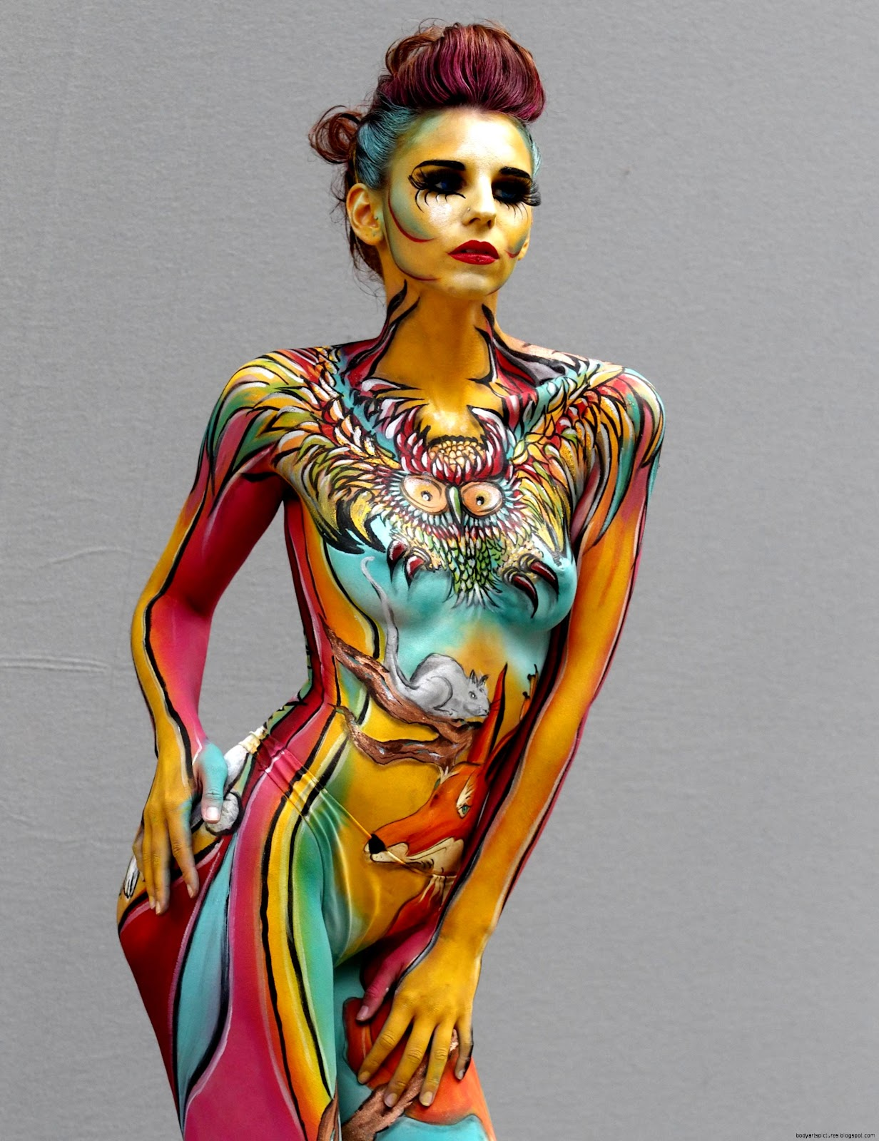 My Body Art  Body Art Pictures