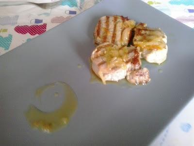 solomillo con salsa de naranja