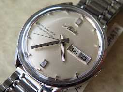 MIDO OCEAN STAR DATETODAY COMMANDER - WHITE PEAR DIAL - AUTOMATIC