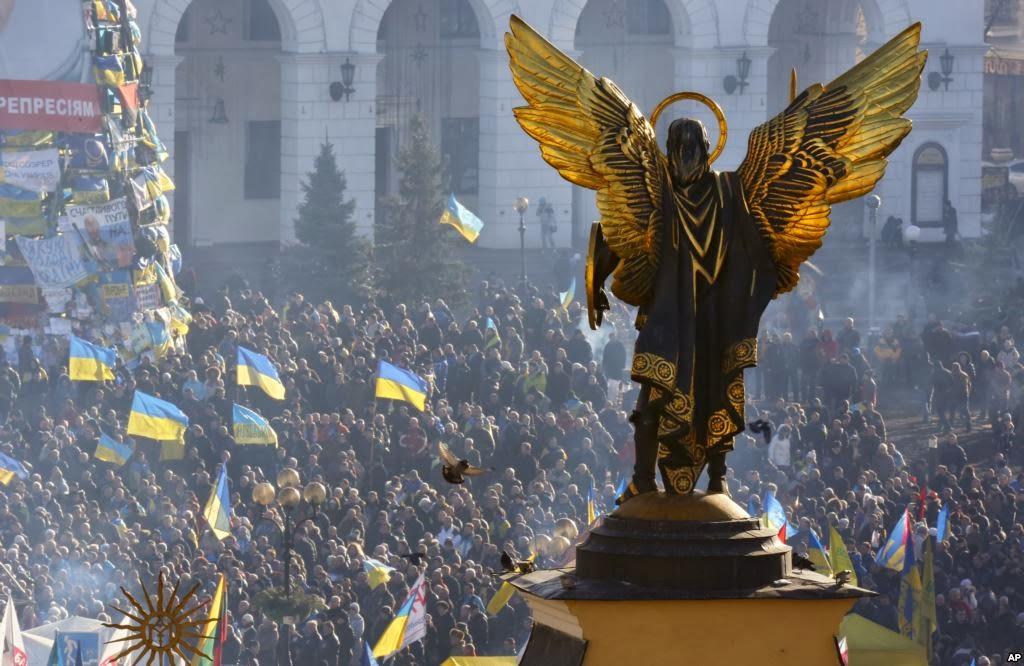 Archangel Michael Statue Kiev Ukraine st Michael The Archangel Kiev