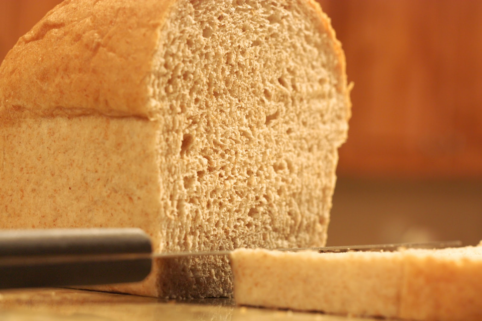 Homemade Toast: Honey Wheat Sandwich Bread