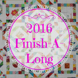 Finish-A-Long 2016