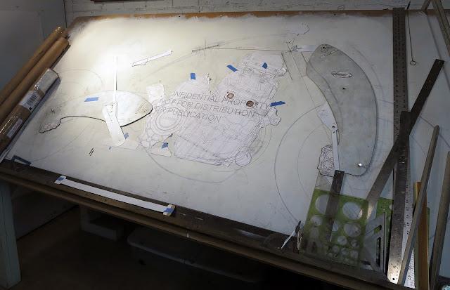 Bienville Legacy Motorcycle Sketch