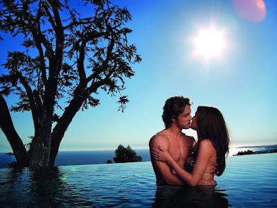 fotos de enamorados en el lago