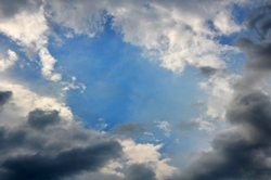 Die Wolken öffnen sich wieder...
