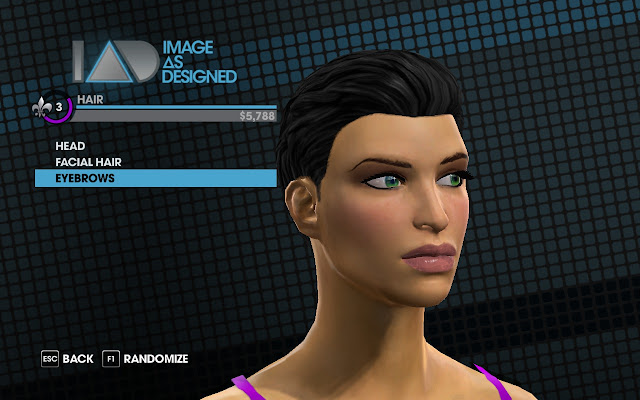 Saints Row the Third image as designed face editor
