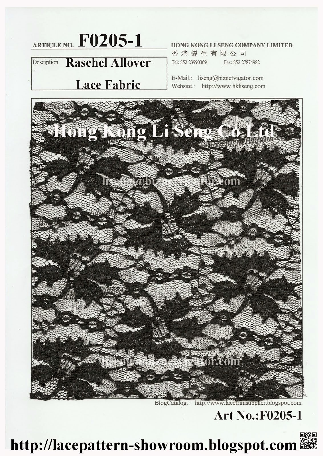 New Raschel Allover Lace Fabric For All Kind Apparel