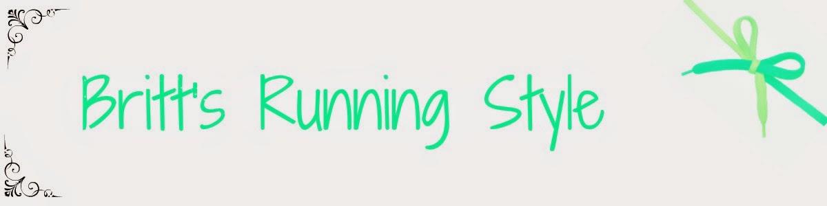 Britt's Running Style