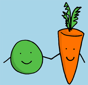 Essay help! we go together like peas and carrots?