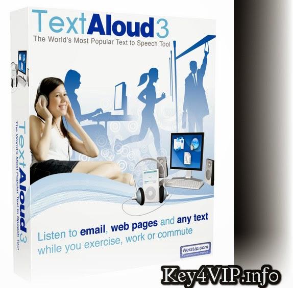 NextUp TextAloud 3.0.80 Full Key,Phần mềm huyển văn bản thành file âm thanh,giúp học ngoại ngữ