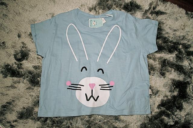primark bunny top t-shirt pyjama outfit