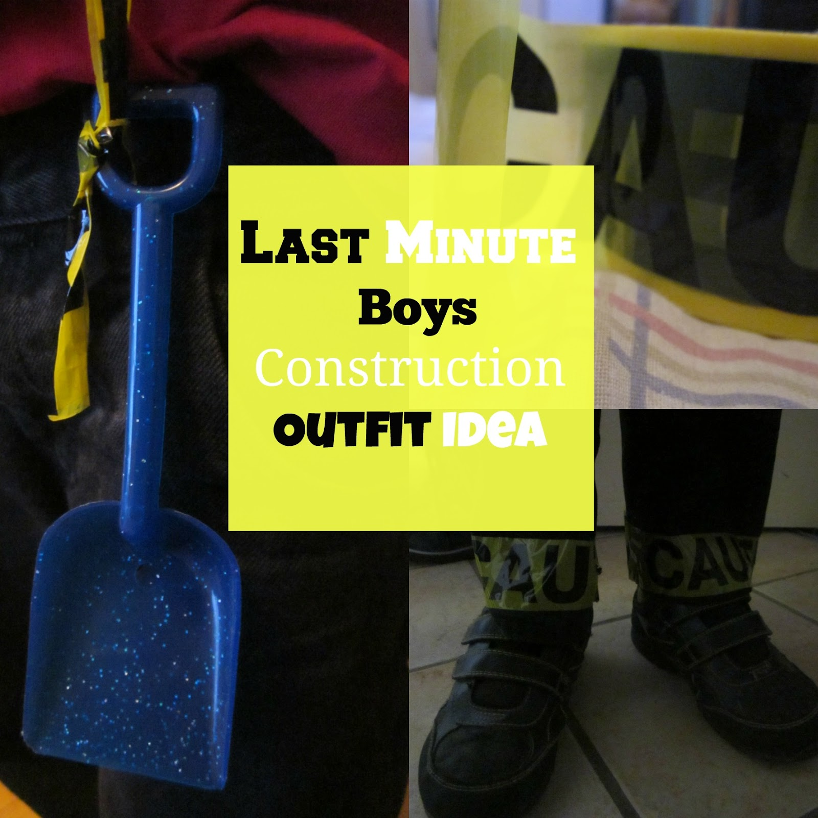 contruction, custom, kids, last minute kids customs,