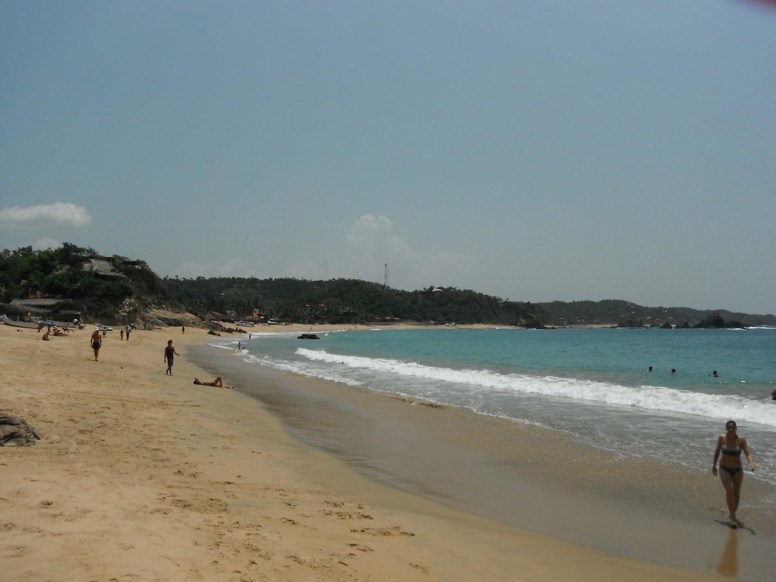 Ecoturismo m xico playa el rinconcito mazunte santa for En zacatecas hay playa