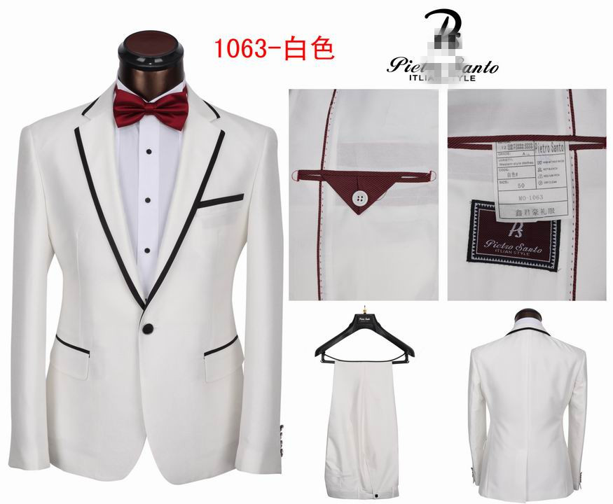 White & Off White Tuxedos Suits For Men | Mens Womens Fashion Blog