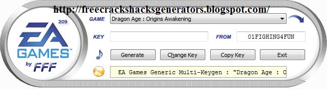 ea games multi keygen exe