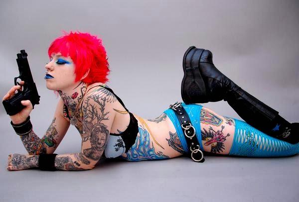Rachael Breckless Tattoo Designs