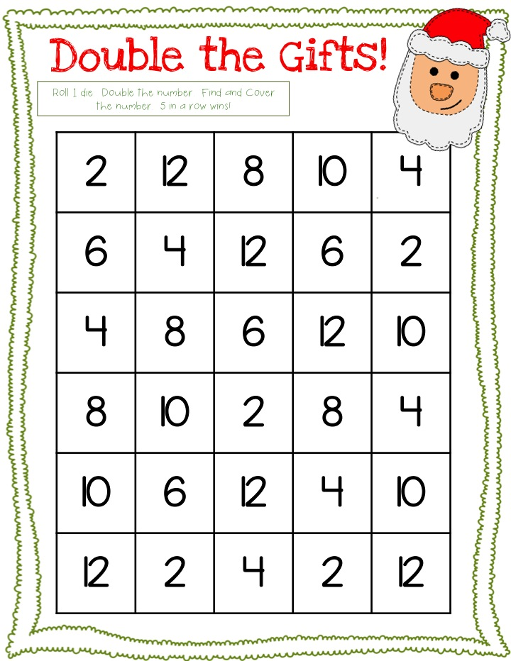 Rulin\' The Roost: Christmas Math Games-Freebie