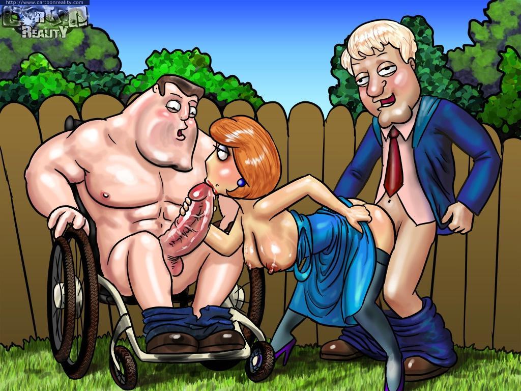 Порно онлайн симпсоны гриффины футурама
