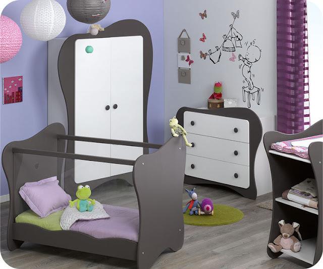 chambre de bébé moderne  idées déco pour maison moderne
