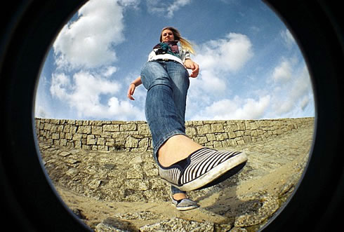 VIOLENT GREEN: FISHEYE # 2 CLONES by LOMOGRAPHY - NEW ARRIVALS