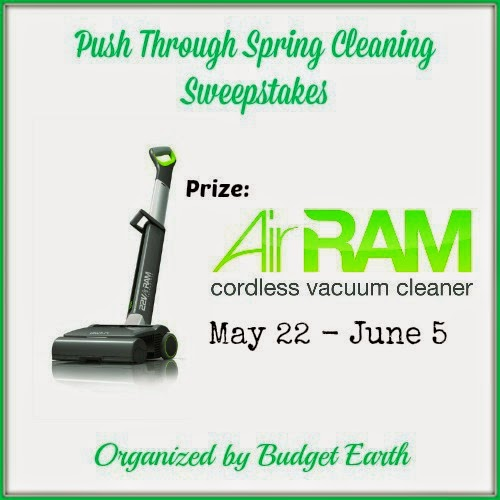Enter the GTech AirRam Giveaway. Ends 6/5/14.