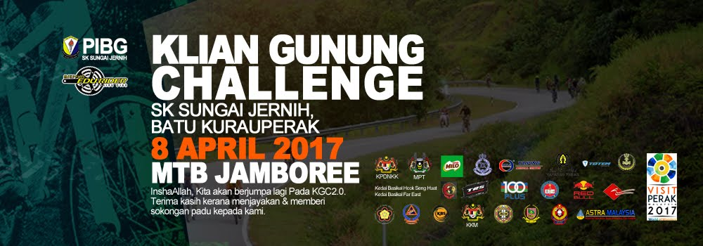 KLIAN GUNUNG MTB CHALLENGE 2017