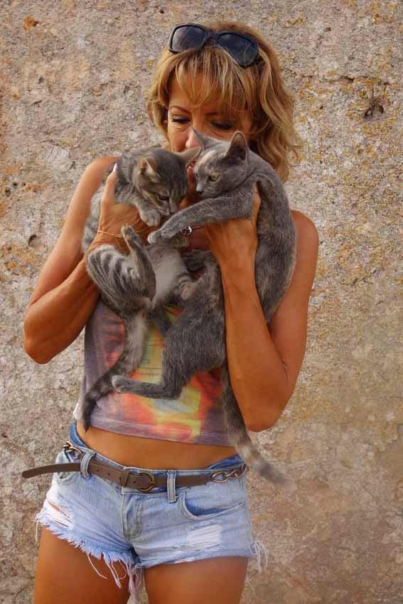 Fanny et les chats