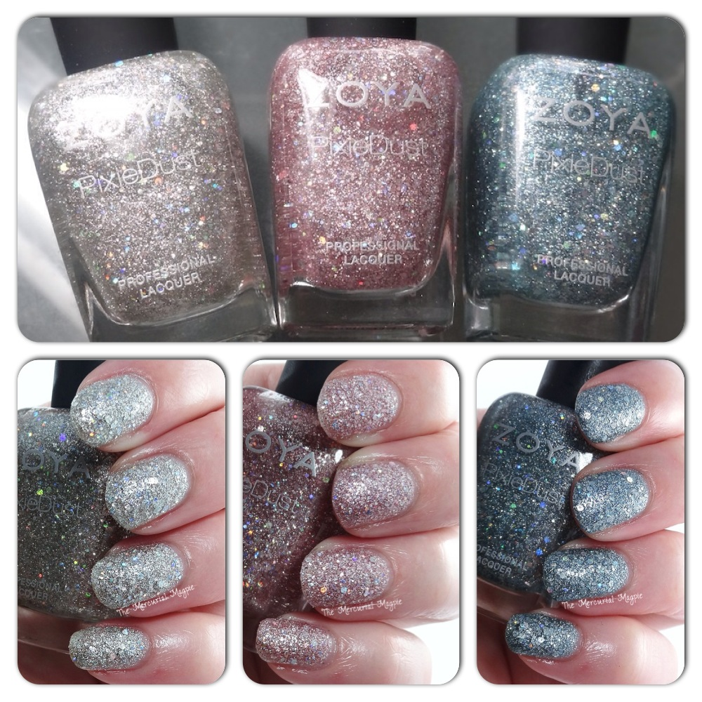 Zoya Spring Magical Pixies - Cosmo, Vega & Lux Swatches & Review (& OPI Teenage Dream vs Lux comparison)!