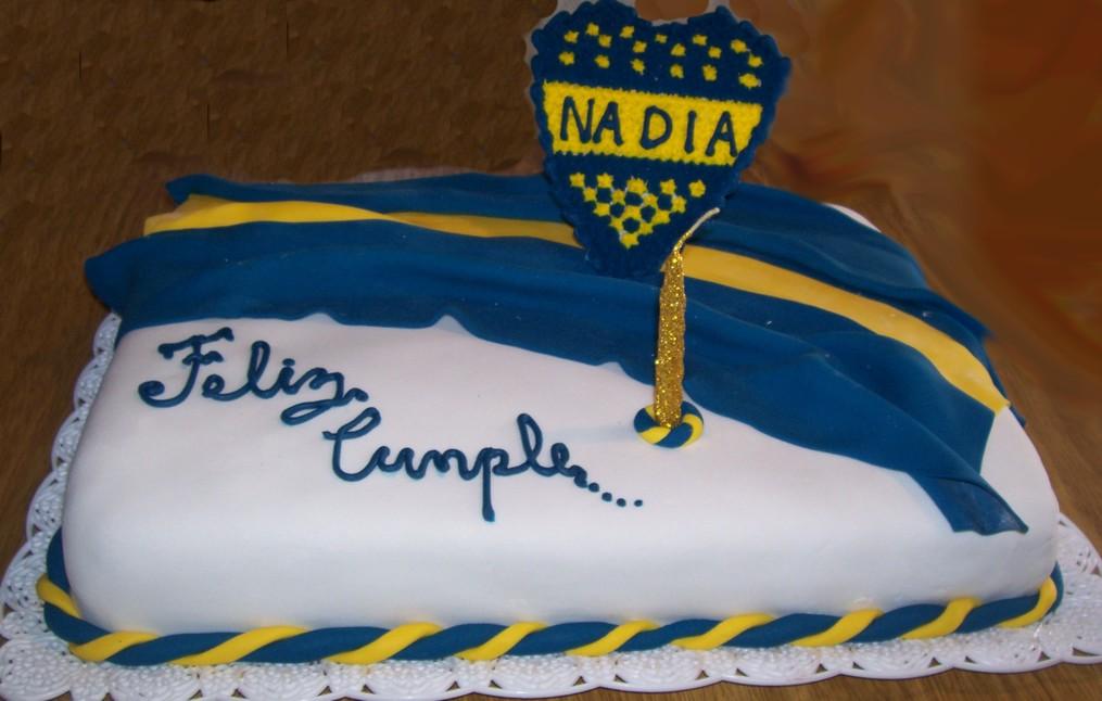 Tortas, adornos de torta y souvenirs: Torta Boca Juniors