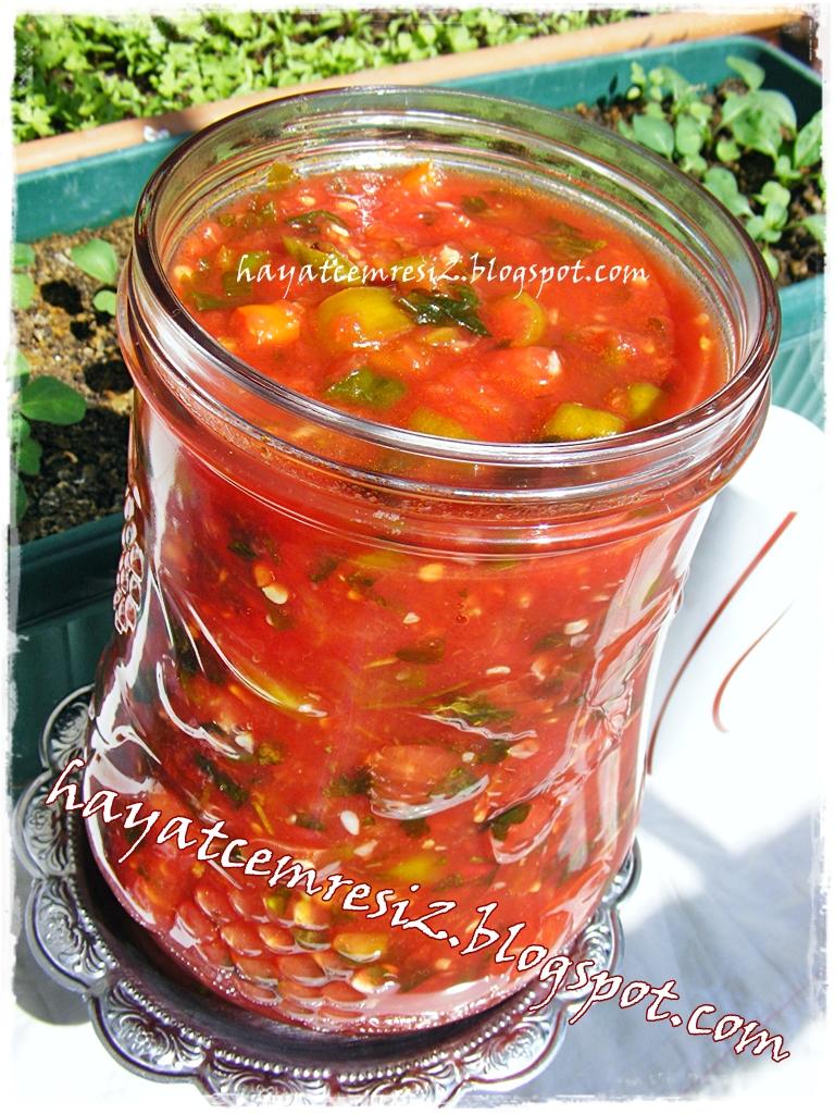 Domates soslu turşu çeşitleri
