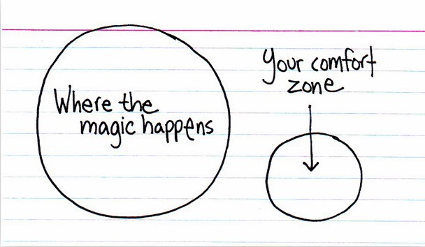 favorite life quotes comfort zone