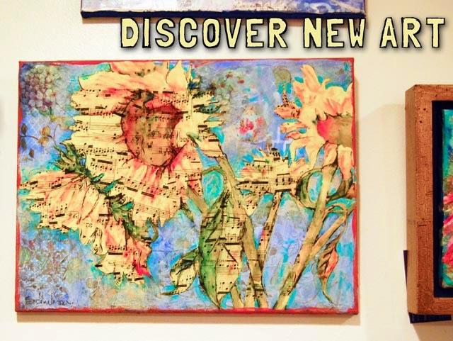 sunflower art | sunflower painting | art by Miriam Schulman http://www.miriamschulmanstudio.com/index.html