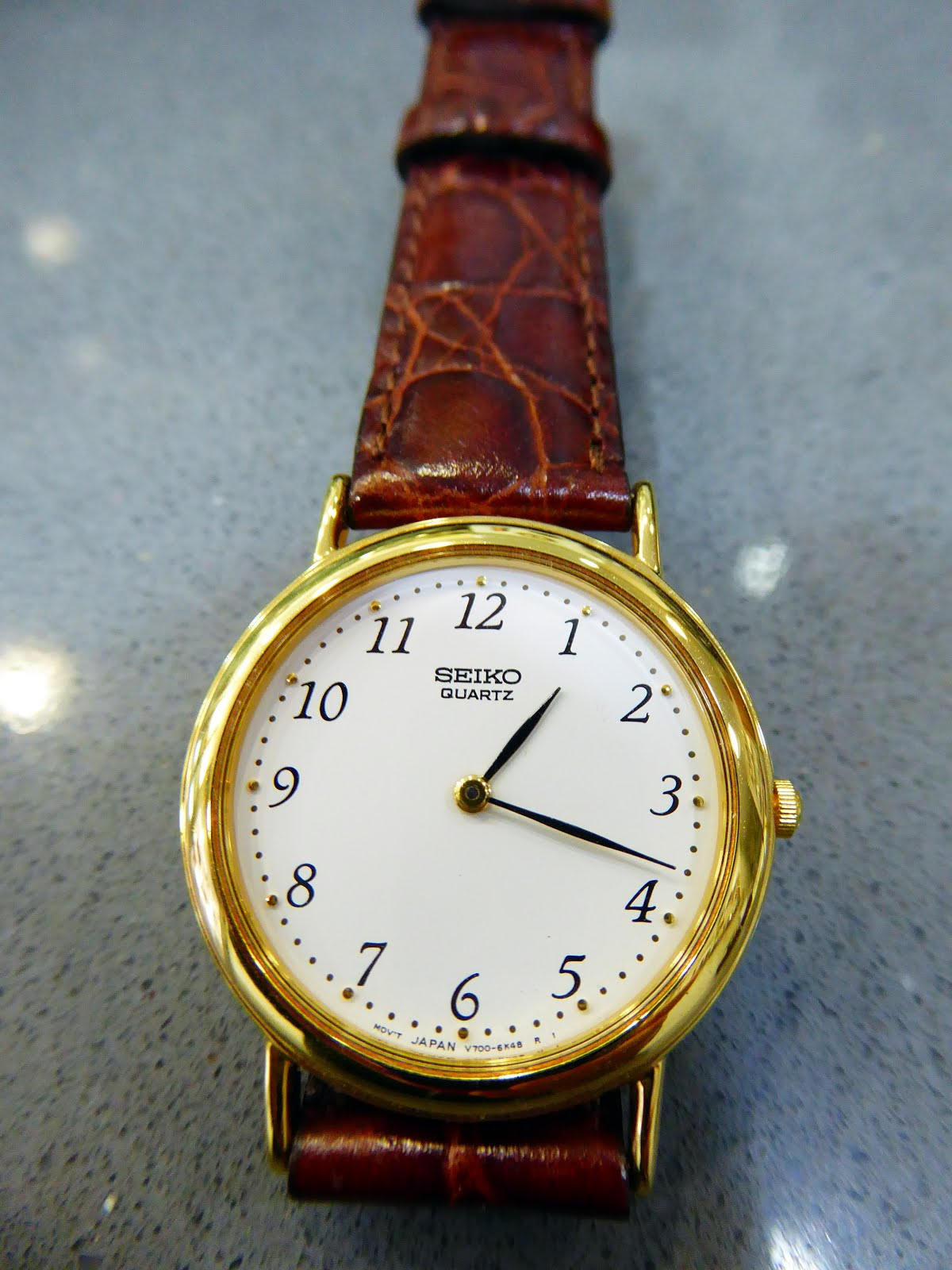 Reloj de señora clásico Seiko