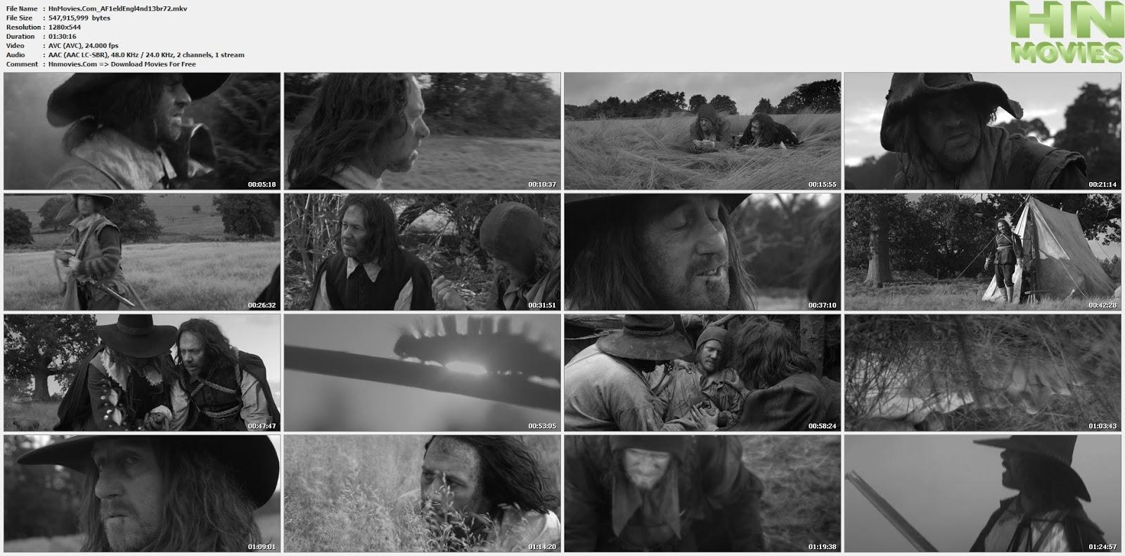 movie screenshot of A Field in England fdmovie.com