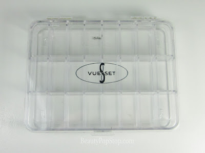 Vueset Tahiti pro palette case review for makeup artists, hair stylists, nail techs