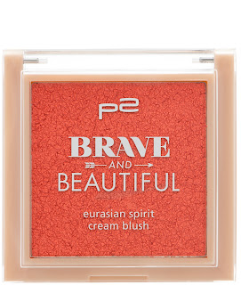 Preview: p2 Limited Edition: Brave and Beautiful - eurasian spirit cream blush - www.annitschkasblog.de