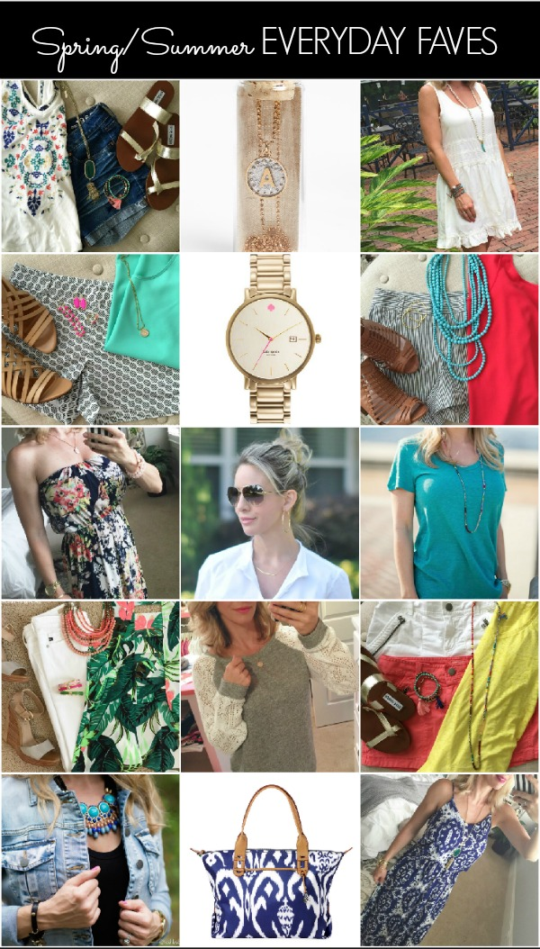Spring Summer Everyday Favorites